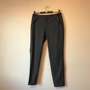 Zara basic career pants checks print